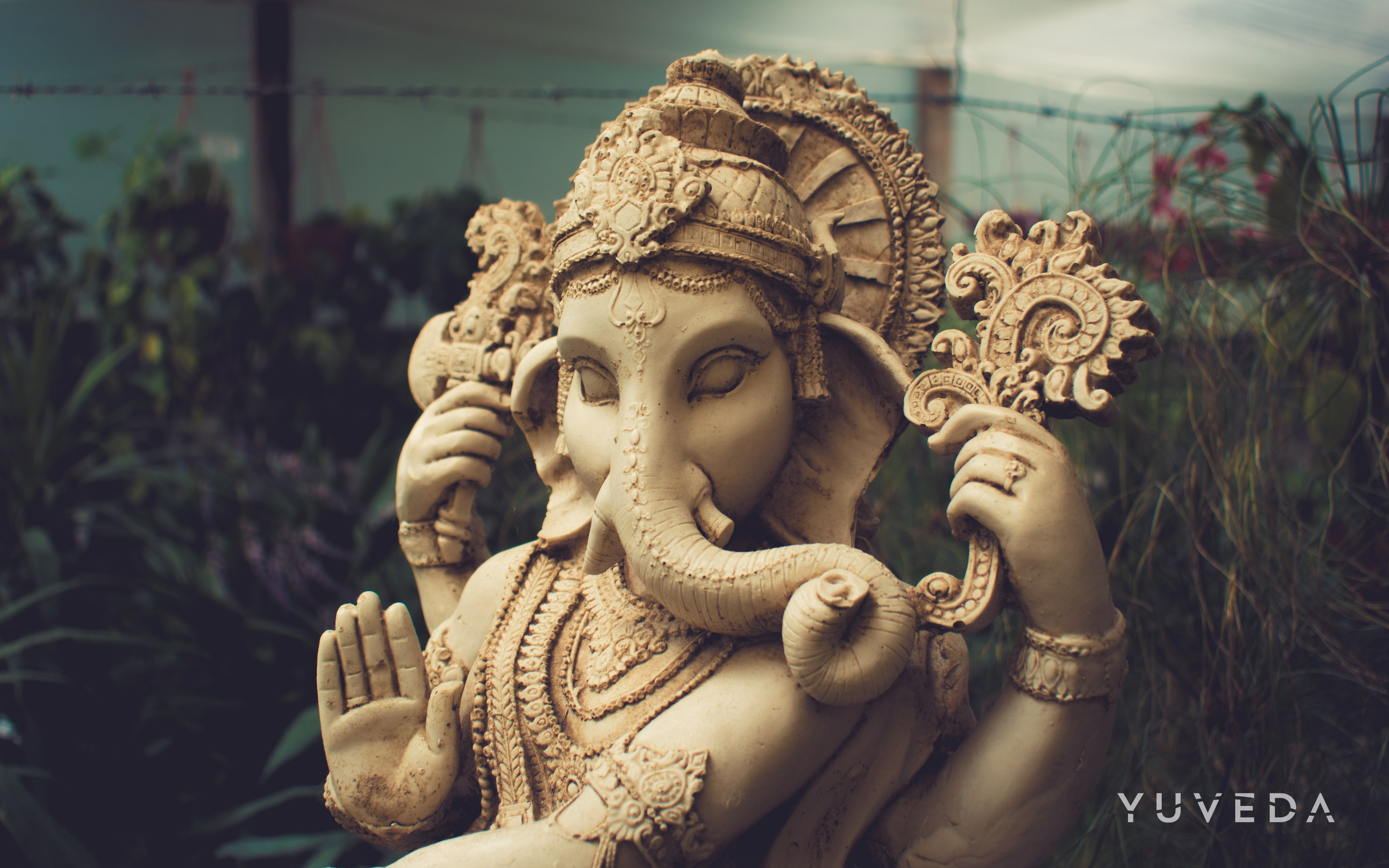 Ayurveda Wallpaper Indischer Gott Shiva